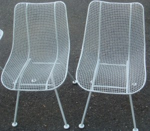 Russel Woodard Outdoor Chairs